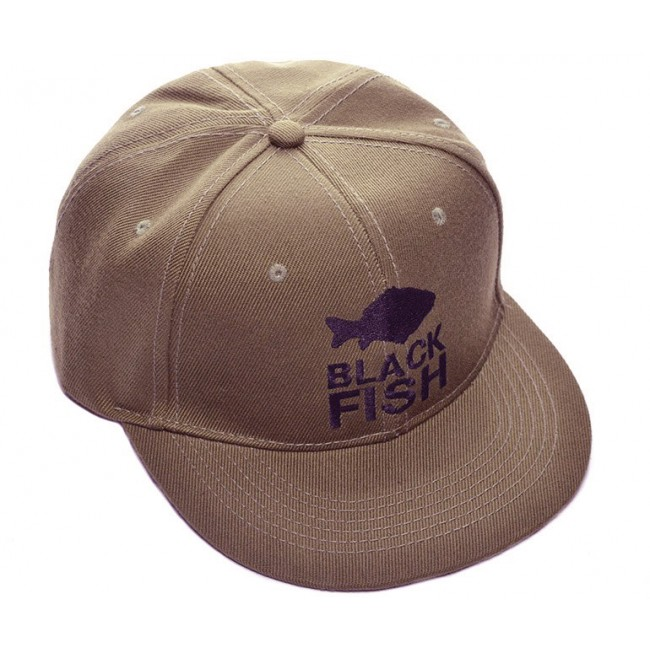 Бейсболка Black Fish Snapback Cap Brown