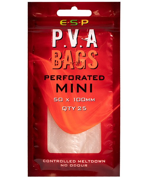 ПВА мешок ESP PVA Bag Mk2 - MINI    50ммx100мм
