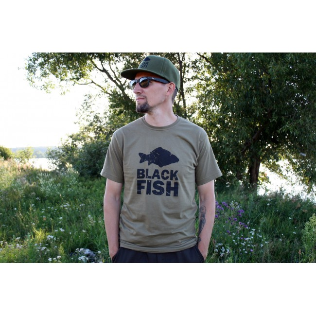 Футболка Black Fish T-Shirt Khaki Размер L