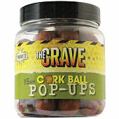 Бойлы плавающие Dynamite Baits   The Crave Cork Ball 15мм   (Крейв)